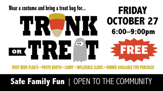 6pm Trunk or Treat