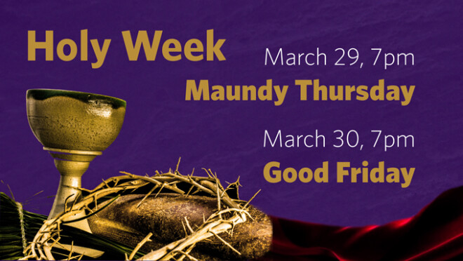 7pm Good Friday Service