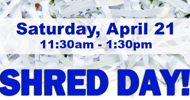 11:30 am Free Shred Event