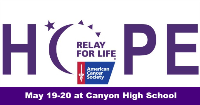 9am Relay for LIfe