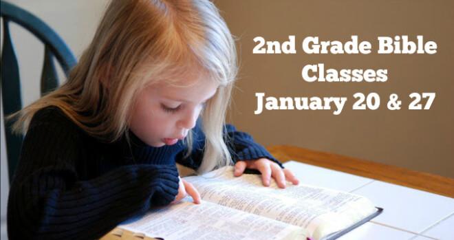 11:15am Second Grade Bible Class