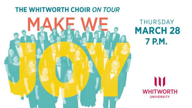 7:00pm Whitworth University Choir Concert