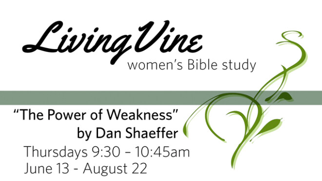 9:30am Women's Summer Bible Study