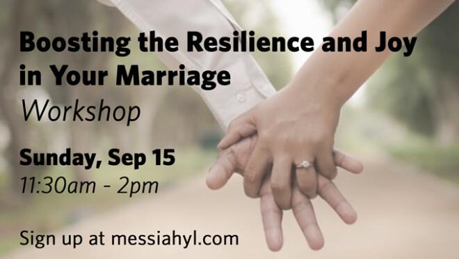 11:30am  Marriage Workshop