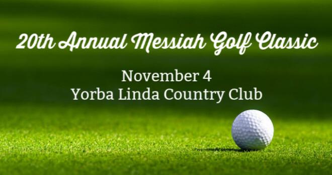 8:30am Messiah Golf Classic