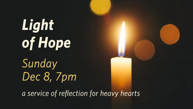 Light of Hope Service