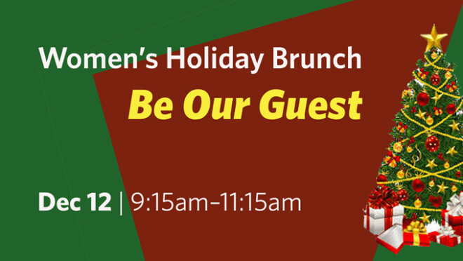 Be Our Guest Christmas Program