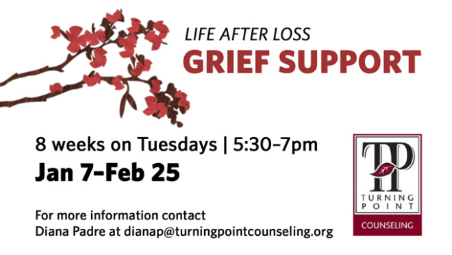 5:30pm Grief Support Group