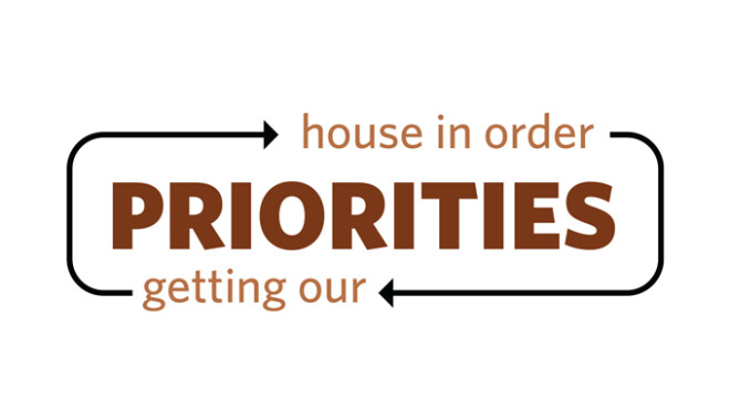 Priorities Message Series