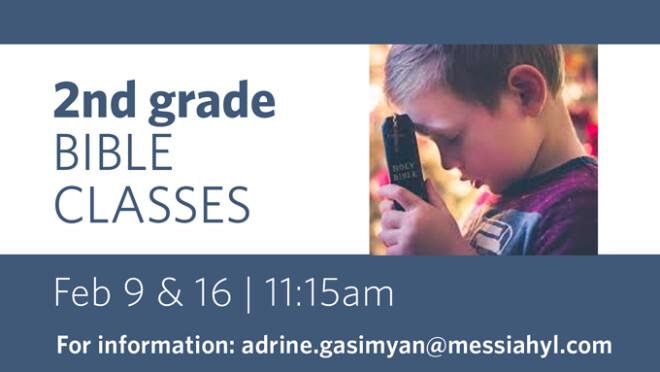 2nd Grade Bible Classes