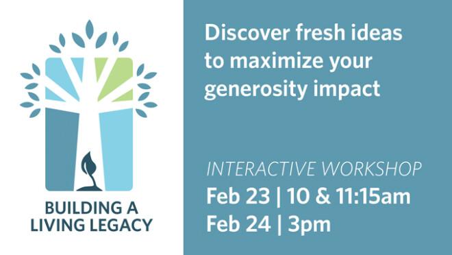 Building a Living Legacy Workshops