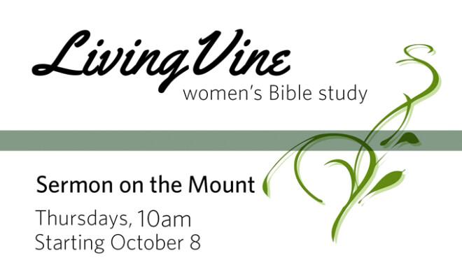 10am Living Vine Women's Bible Study