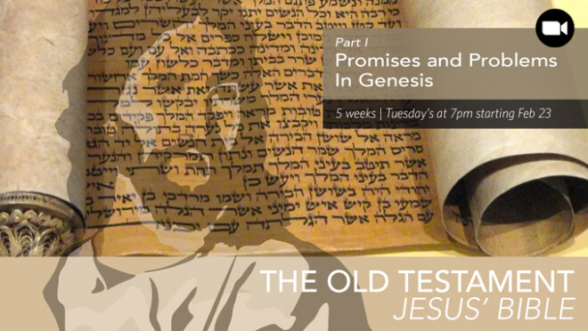 7pm OT Study -Genesis Promises and Problems Small Group Zoom study