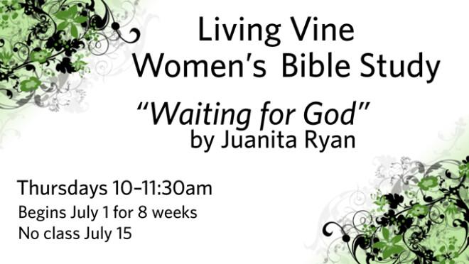 Living Vine Summer Bible Study