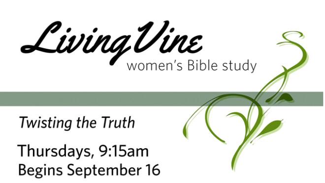 9:15am Living Vine